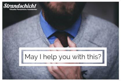 Unser Team- Treffen Sie einen virtuellen Assistenten